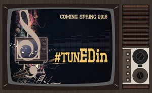Tuned in logo