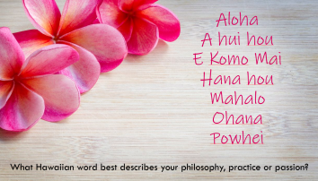 HAWAII WORDS